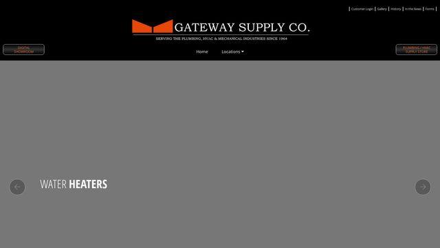 Log In   Gateway Supply Co., Inc