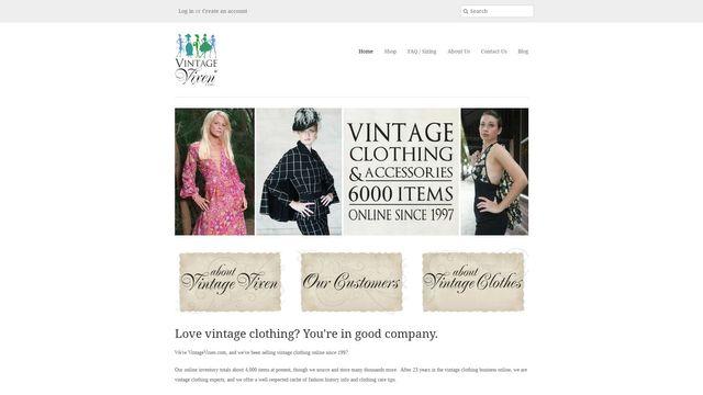 Vintage Vixen Clothing Llc