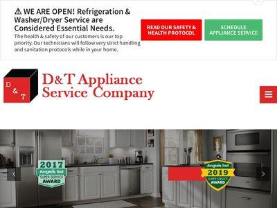 D & T Appliance Service