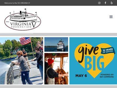 Steamer Virginia V Foundation