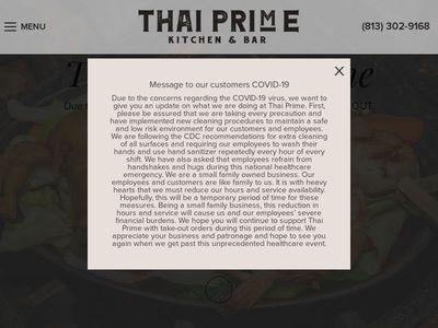 Thai Prime