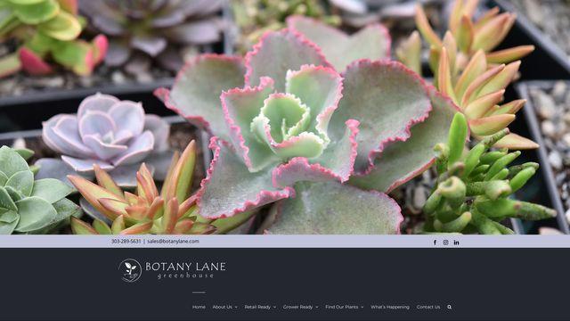 Botany Lane Greenhouse