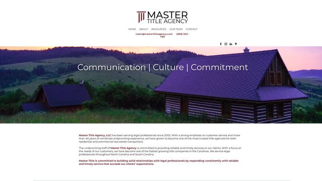 Master Title Agency