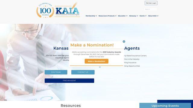 Kansas Association Of Insurance Agents