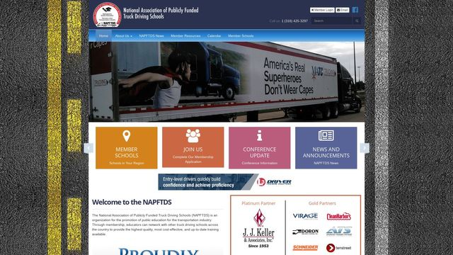 NATIONAL ASSOCIATION OF PUBLICLY FUNDED TRUCK DRIVING SCHOOLS INC