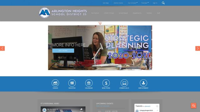 Arlington Heights School District 25 / Homepage