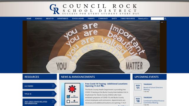 Council Rock School District / Overview