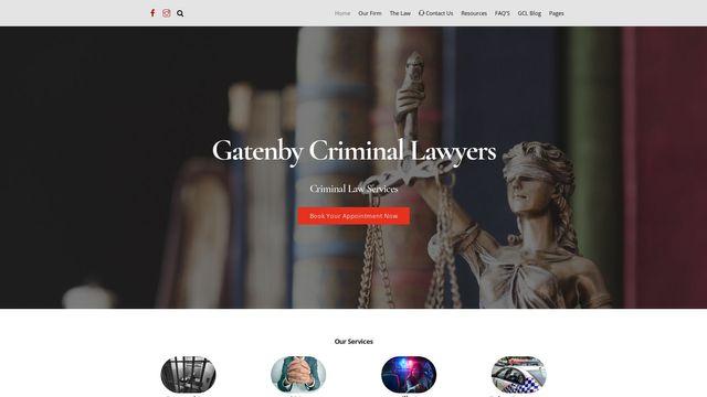 Gatenby Criminal Law
