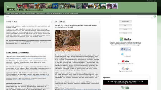 Wildlife Disease Association