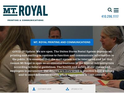 Mount Royal Printing & Communications