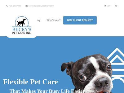 Becky'S Pet Care