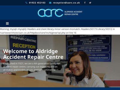 Aldridge accident & repair centre ltd