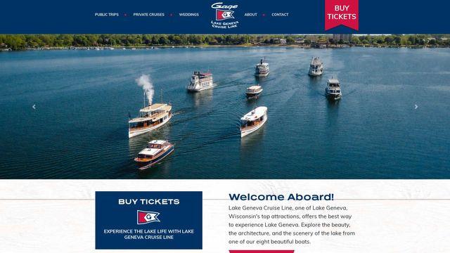 Lake Geneva Cruise Line