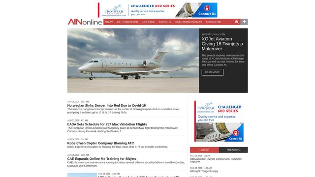 Aviation International News