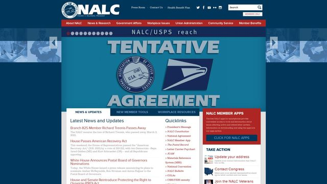 National Association Of Letter Carriers Afl-Cio