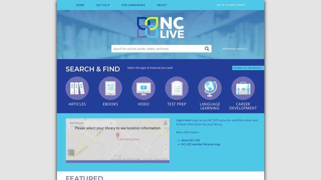 NC LIVE / NCSU Libraries