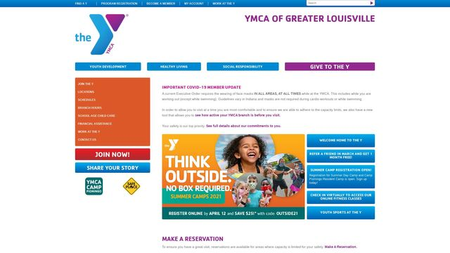 Ymca Of Greater Louisville