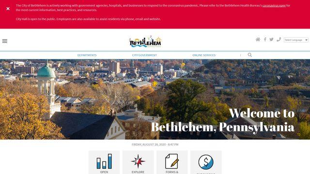City Of Bethlehem