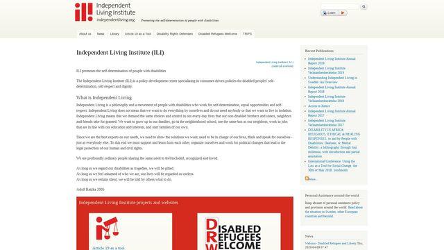 Independent Living Institute