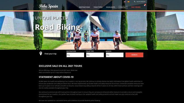 Bike Spain Tours
