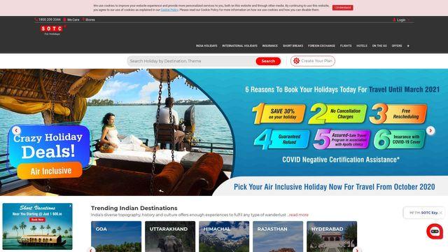 SOTC Travel Ltd.