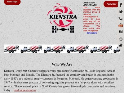 Kienstra Ready Mix Concrete