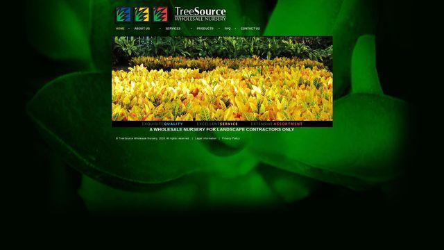 Tree Source Wholesale Nursery