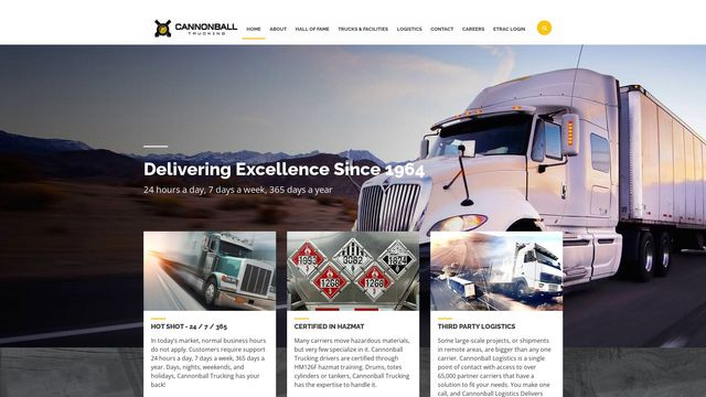 Cannonball Trucking