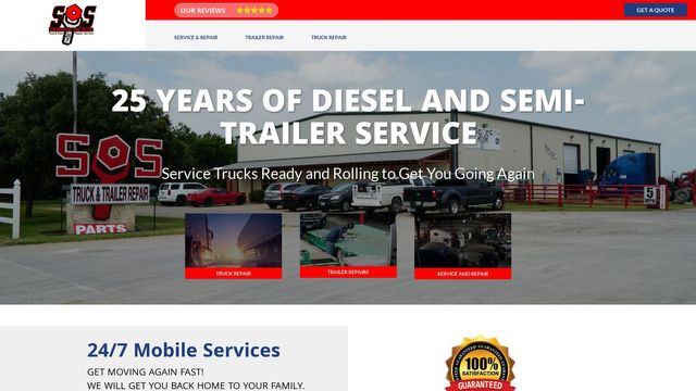 Sos Truck And Trailer Repair And Service