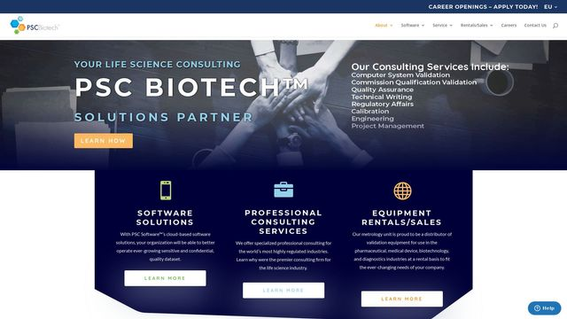 Life Science Services And Solutions Provider