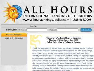 All Hour Tanning Solutions