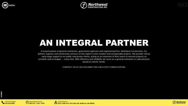 Northwest Construction Inc.