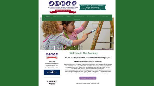 Burlington Academy Of Learning