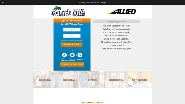 Beverly Hills Transfer and Storage