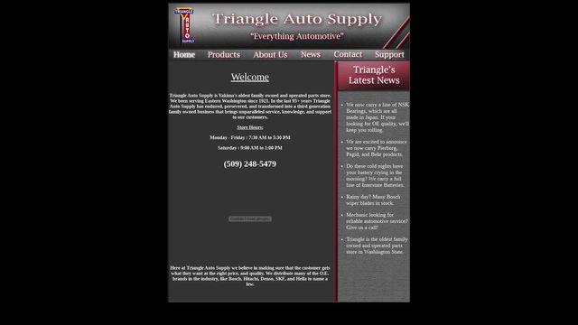 Triangle Auto Supply