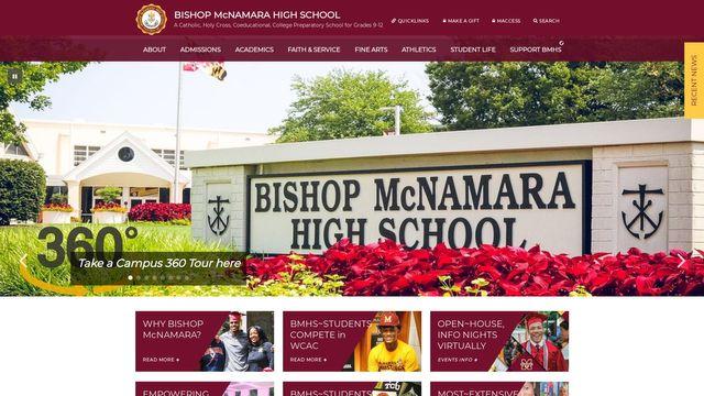Bishop Mcnamara High School