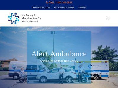 Hackensack Meridian Health Alert Ambulance