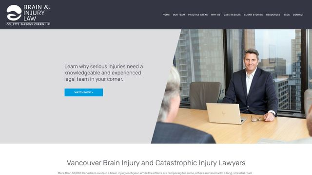 Brain & Injury Law - Collette Parsons Corrin