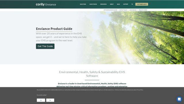 Enviance | a Cority company