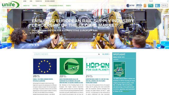 UNIFE - The European Rail Supply Industry Association
