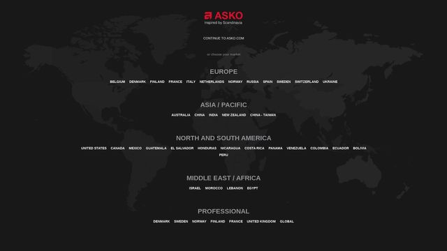 Asko Appliances Ab