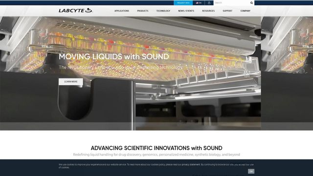 Labcyte Inc. | The Future of Science is Sound