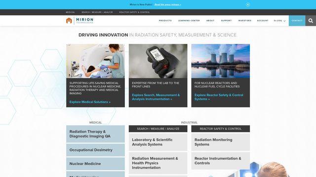 Mirion Technologies, Inc.