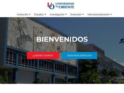 Universidad de Oriente. Cuba