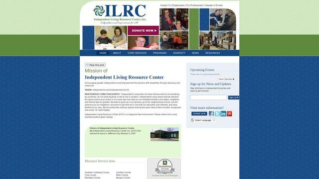 Independent Living Resource Center, Inc.