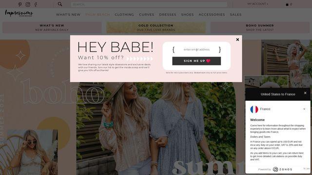 Impressions Online Boutique
