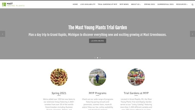 Mast Young Plants