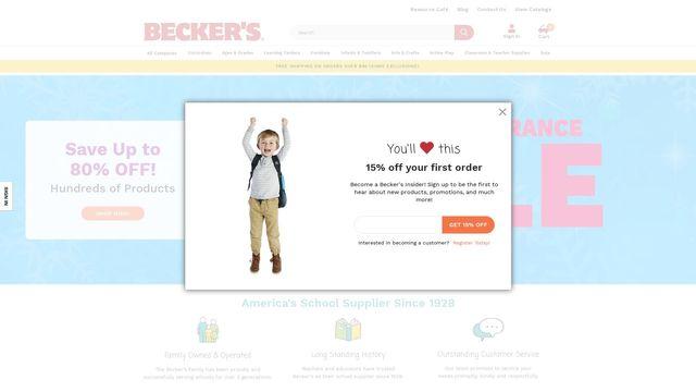Becker'S School Supplies