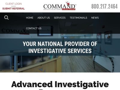 Command Investigations