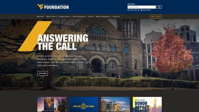 the WVU Foundation
